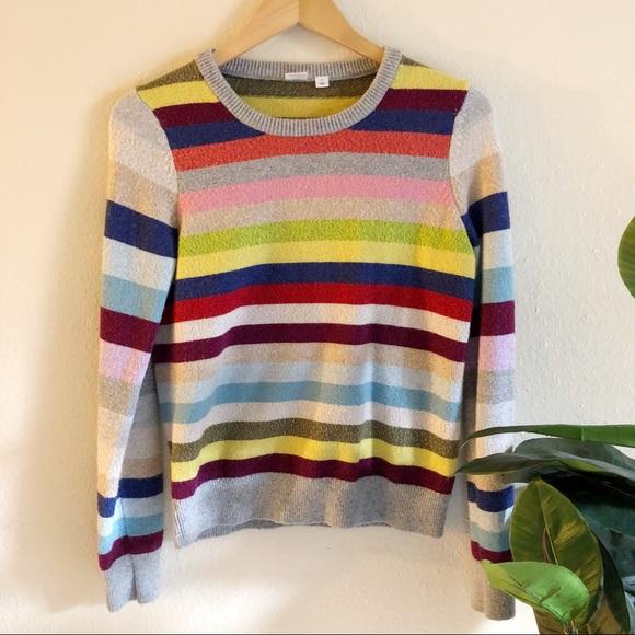 GAP Sweaters - Gap Crazy Stripe Sweater with Sparkle Threads b4f4f44f19c7